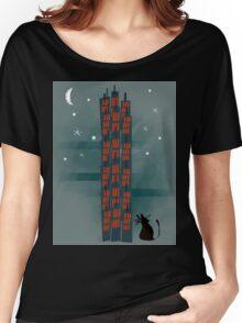 Urban Cat Women's Relaxed Fit T-Shirt