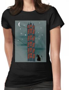 Urban Cat Womens Fitted T-Shirt
