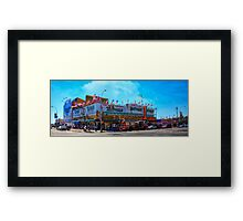 Nathan's Famous Frankfurters, Original Headquarters, Coney Island, Brooklyn, USA Framed Print