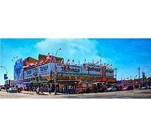 Nathan's Famous Frankfurters, Original Headquarters, Coney Island, Brooklyn, USA Photographic Print