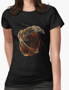 Lizard and Egg Womens Fitted T-Shirt