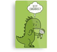 Organic Dinosaur Metal Print