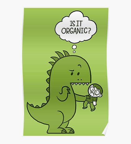 Organic Dinosaur Poster