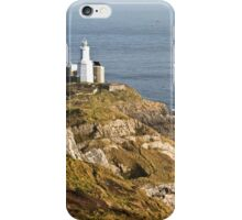 Mumbles Lighthouse Swansea Gower Wales iPhone Case/Skin