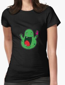 Slimer Womens Fitted T-Shirt