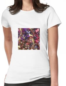 Flower colors 01 Womens Fitted T-Shirt
