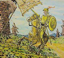 A man of La Mancha by GEORGE SANDERSON
