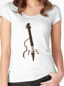 Doghouse Bass without house... Women's Fitted Scoop T-Shirt