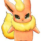Poke'Mon - Flareon by Haley Carper