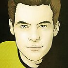James T. Kirk by Haley Carper