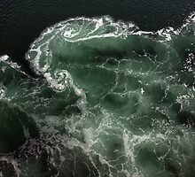 Turbulence - A birds eye view by Lisa  Kenny
