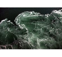 Turbulence - A birds eye view Photographic Print