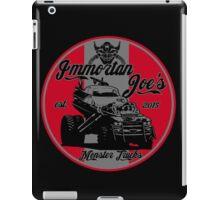 Imm. Joe's monster trucks iPad Case/Skin