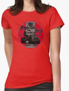 Imm. Joe's monster trucks Womens Fitted T-Shirt