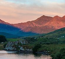 Snowdon Horseshoe at Sunrise by Nick Jenkins