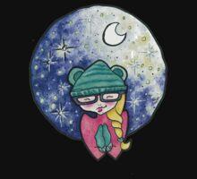Starry Night Baby Tee