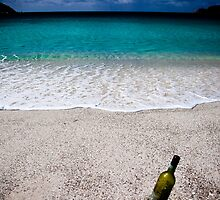 Wine Bottle at Wineglass Bay by morealtitude