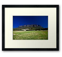 Mt. Roland Framed Print