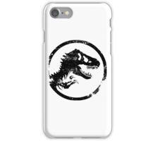 Jurassic park/world logo iPhone Case/Skin
