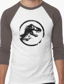 Jurassic park/world logo Men's Baseball ¾ T-Shirt