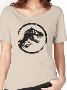 Jurassic park/world logo Women's Relaxed Fit T-Shirt