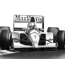 F1: Michael Andretti by JeffTellez