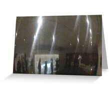 Mirror Flashes Greeting Card