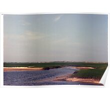 Cape Cod inlet Poster