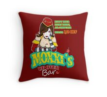 Moxxi's UP OVER Throw Pillow
