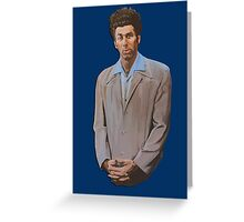 Cosmo Kramer painting Greeting Card