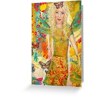 Dragonfly fairy  Greeting Card