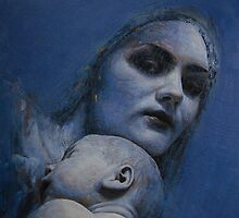 Madonna and Child by TsarevichArtist