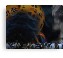 Welcome to a Brave New World Canvas Print