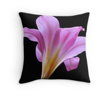 Profile of a Lady Throw Pillow