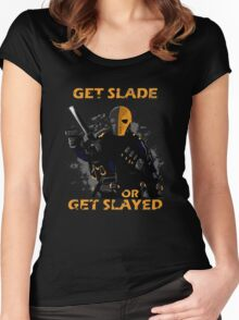 Deathstroke - Arrow Women's Fitted Scoop T-Shirt