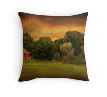 Cobble Lane Farm- Kent Connecticut Throw Pillow