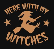 Here with my WITCHES awesome HALLOWEEN design Kids Clothes