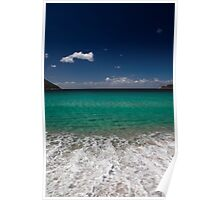 Wineglass Waves Poster