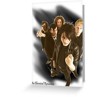 My Chemical Romance Greeting Card