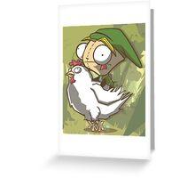 Invader Link Greeting Card
