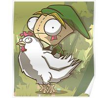 Invader Link Poster