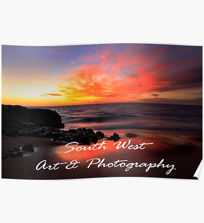 South West Art & Photography Poster