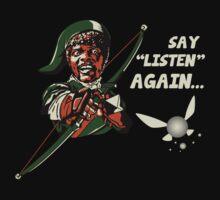 Say Listen Again by LgndryPhoenix