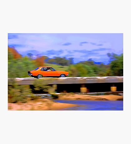 Fake HDR using a GIMP Script. Photographic Print