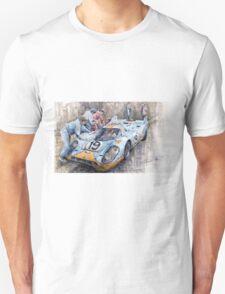 Porsche 917 K GULF Le Mans 1971 Mueller Attwood T-Shirt