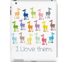 The Llamas are coming iPad Case/Skin