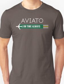 Aviato! On Time Always - Silicon Valley Unisex T-Shirt