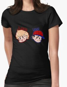 Ness and Lucas! Womens Fitted T-Shirt