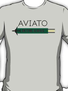 Aviato! On Time Always (Black)- Silicon Valley T-Shirt