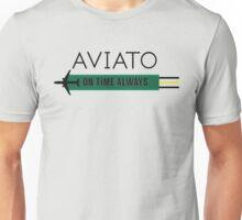 Aviato! On Time Always (Black)- Silicon Valley Unisex T-Shirt